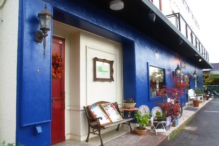 スーリヴェール 広島市西区古江にあるステキなインテリアのカフェ&ギャラリー