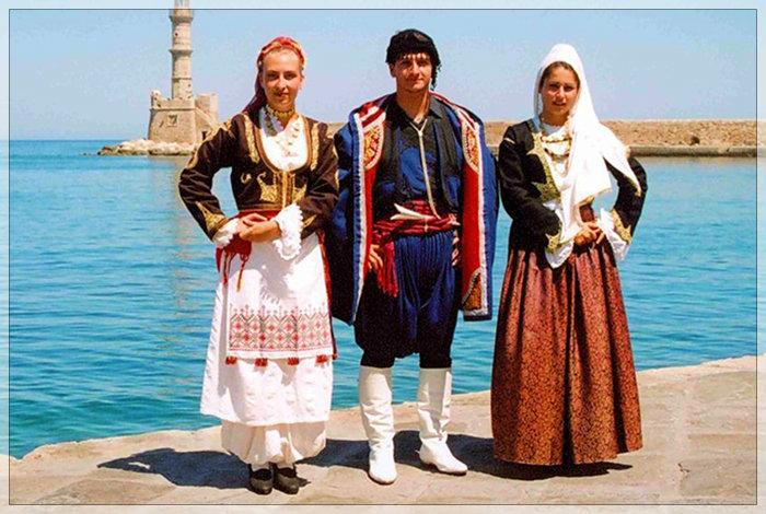 クレタ民族衣装